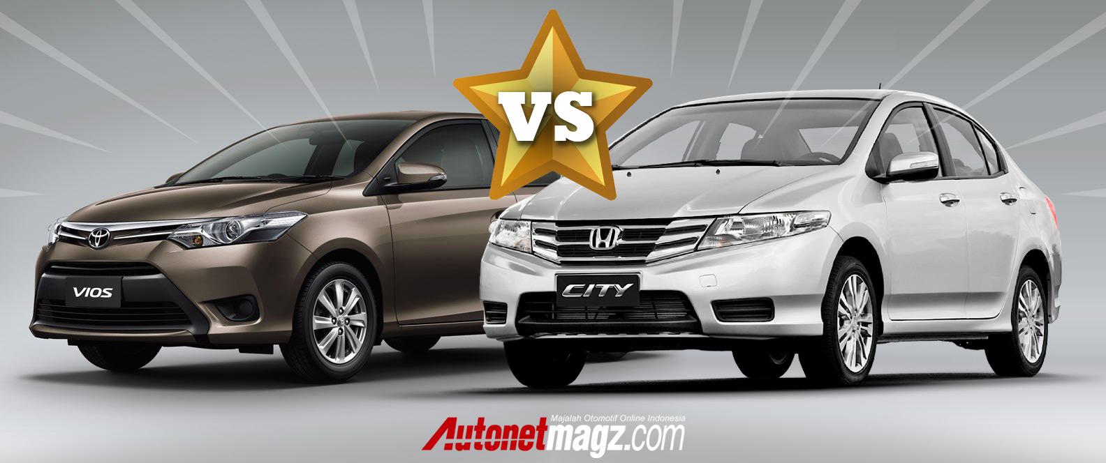 Honda, Komparasi Toyota New Vios vs Honda City 2013 oleh AutonetMagz.com: Komparasi Toyota Vios vs Honda City 2013
