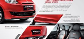 Mitsubishi Mirage Sports aksesoris
