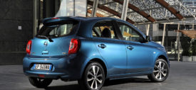 Nissan March Eropa depan