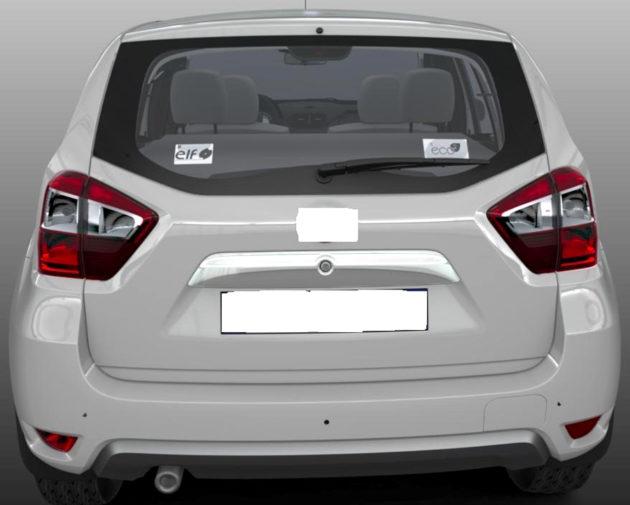 Nissan Terrano belakang