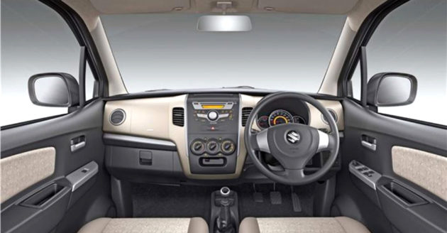 Suzuki Wagon R dashboard
