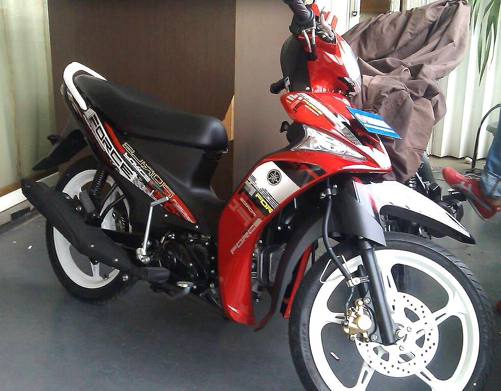 Harga Yamaha Force FI Rp 13,3 Juta!