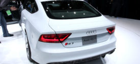 New Audi RS7 rear