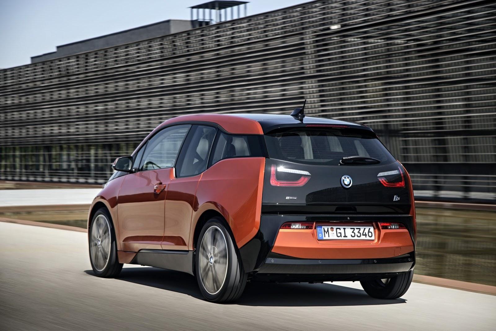 BMW i3 listrik
