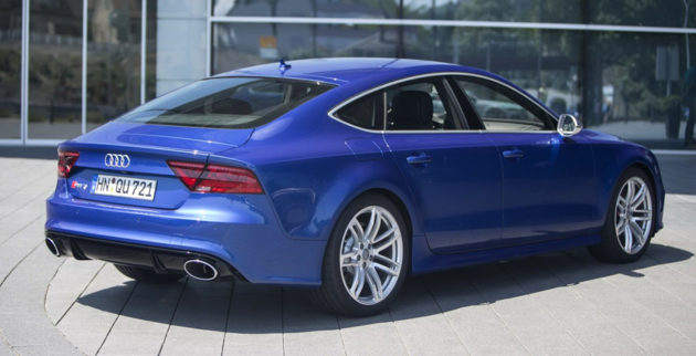 New Audi RS7 back