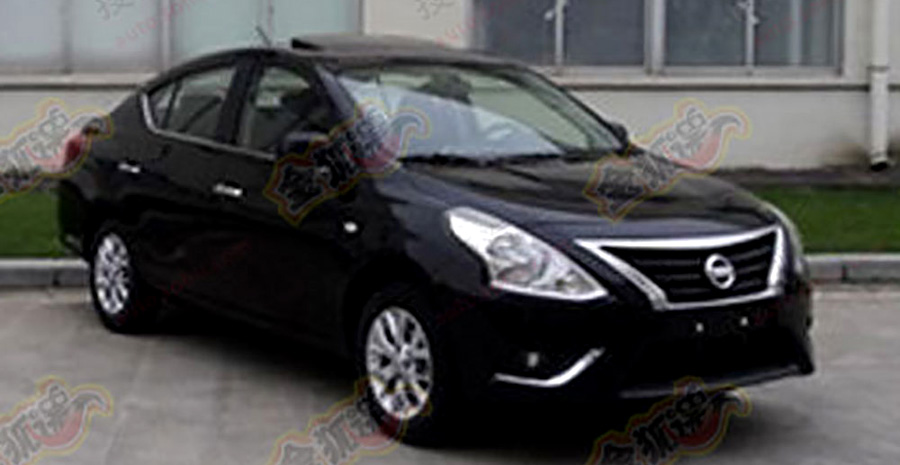 Nissan Almera Facelift Black