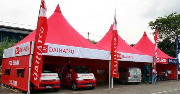 Pos Siaga Mudik Daihatsu 2013