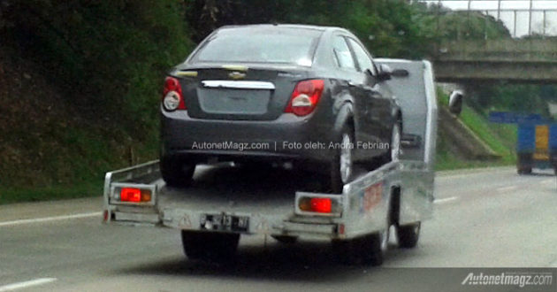 Spyshot Chevrolet Aveo sedan 2013