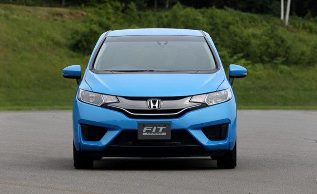 new Honda Jazz hybrid depan