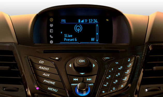 Ford Fiesta Facelift 2013 SYNC