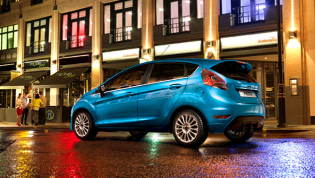 Ford Fiesta Facelift Back