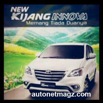 Mobil Baru, Grand New Innova Facelift 2013 (2): Gambar New Kijang Innova Facelift 2013 Bocor!