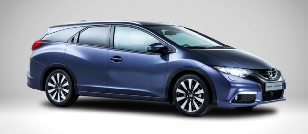 Honda Civic Tourer 2014 left
