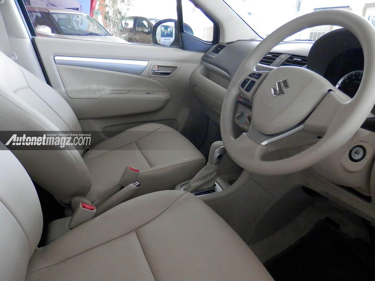 IIMS 2013, Interior kulit Suzuki Ertiga Elegant: Suzuki Ertiga Elegant Tampil Lebih Mewah [with Video]