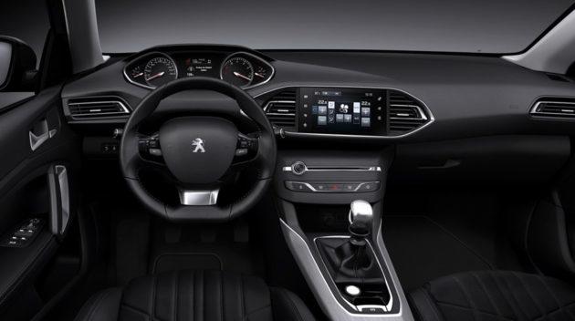 Peugeot 308 dash