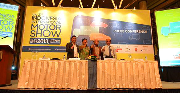 Press Conference ke-2 IIMS 2013
