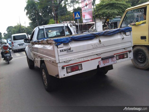 Spy shot TATA Xenon pickup Indonesia