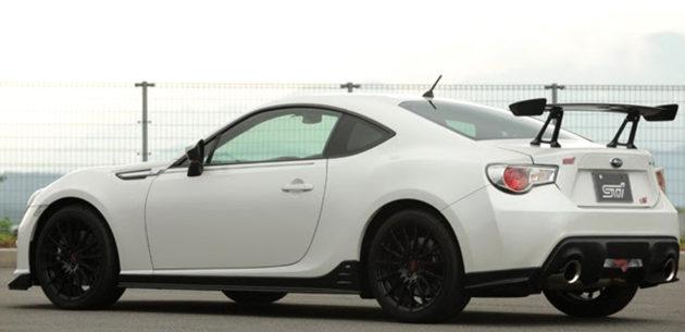 Subaru BRZ STi TS Concept : Tenaganya Nggak Nambah Bro