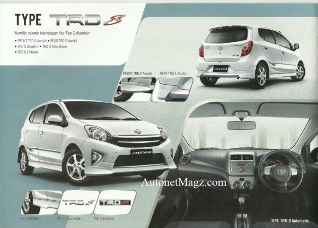 Toyota Agya TRD S