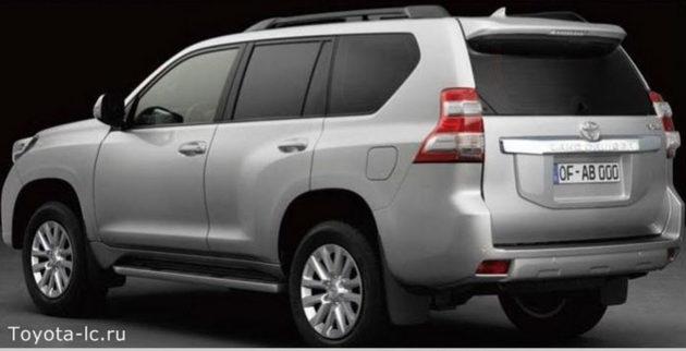 Toyota Land Cruise Prado 2014 belakang