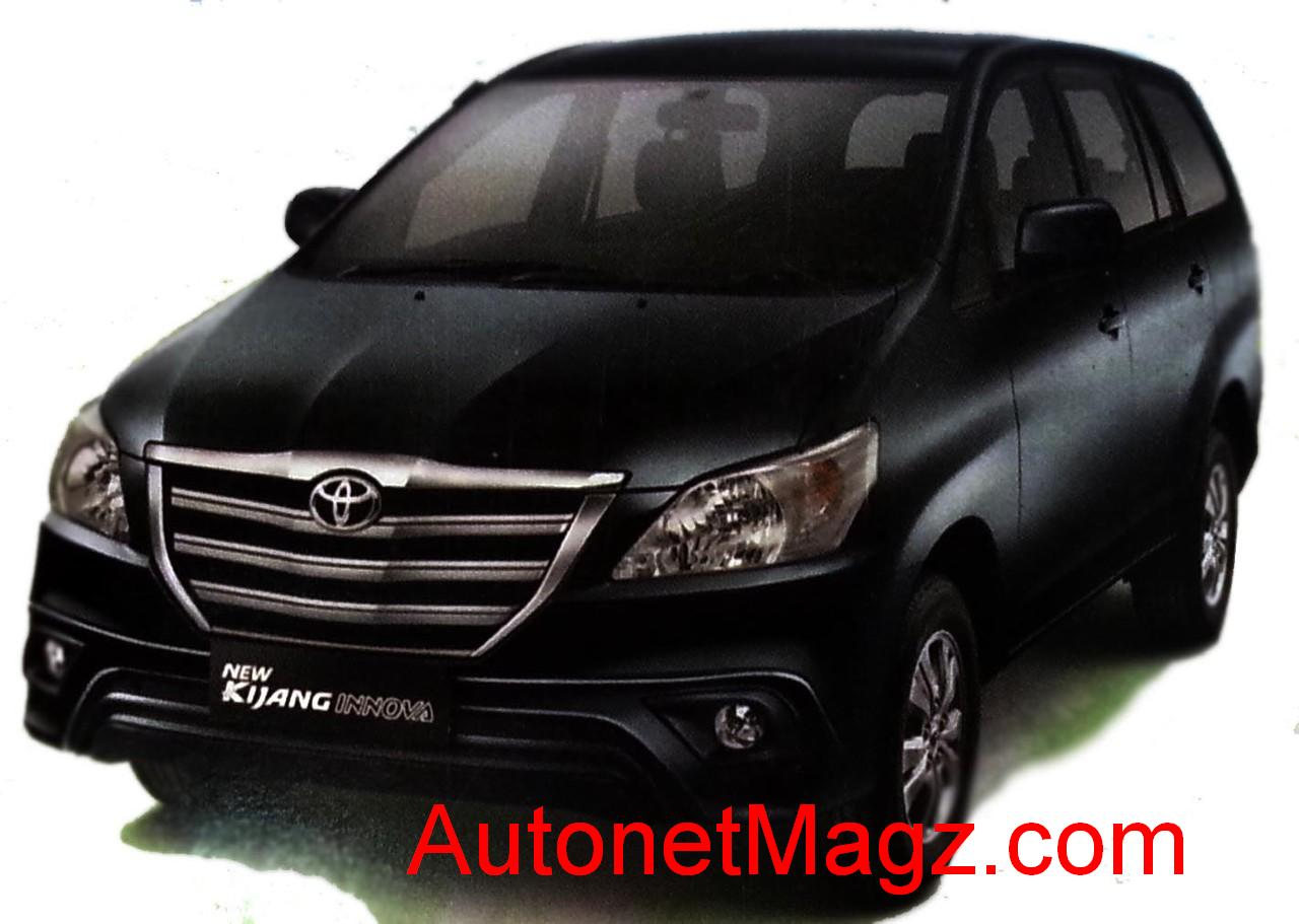 Toyota Kijang Innova 2014 Harga kijang innova facelift 2013 naik 1,8
