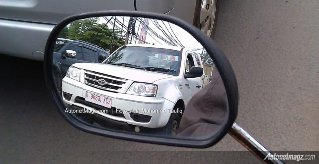spyshot mobil TATA Xenon pickup Indonesia