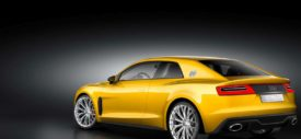 New Audi Sport Quattro concept and old Quattro