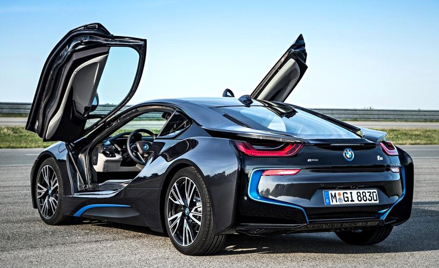 BMW i8 open