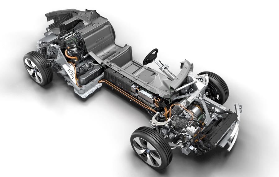 BMW i8 platform