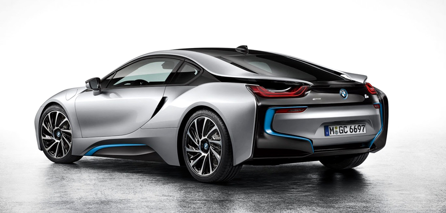 BMW, BMW i8 rear: BMW i8 Electric : Generasi Baru Mobil Sport BMW