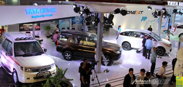 Booth TATA Motors Indonesia di IIMS 2013