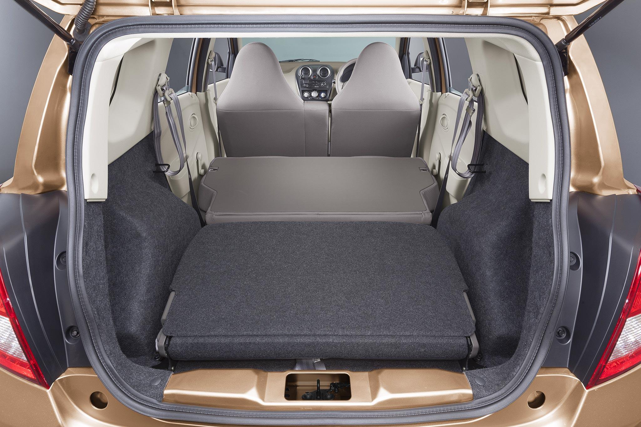 Datsun, Datsun GO Plus folding seat: Nih Gambar Datsun GO Plus High-Resolution