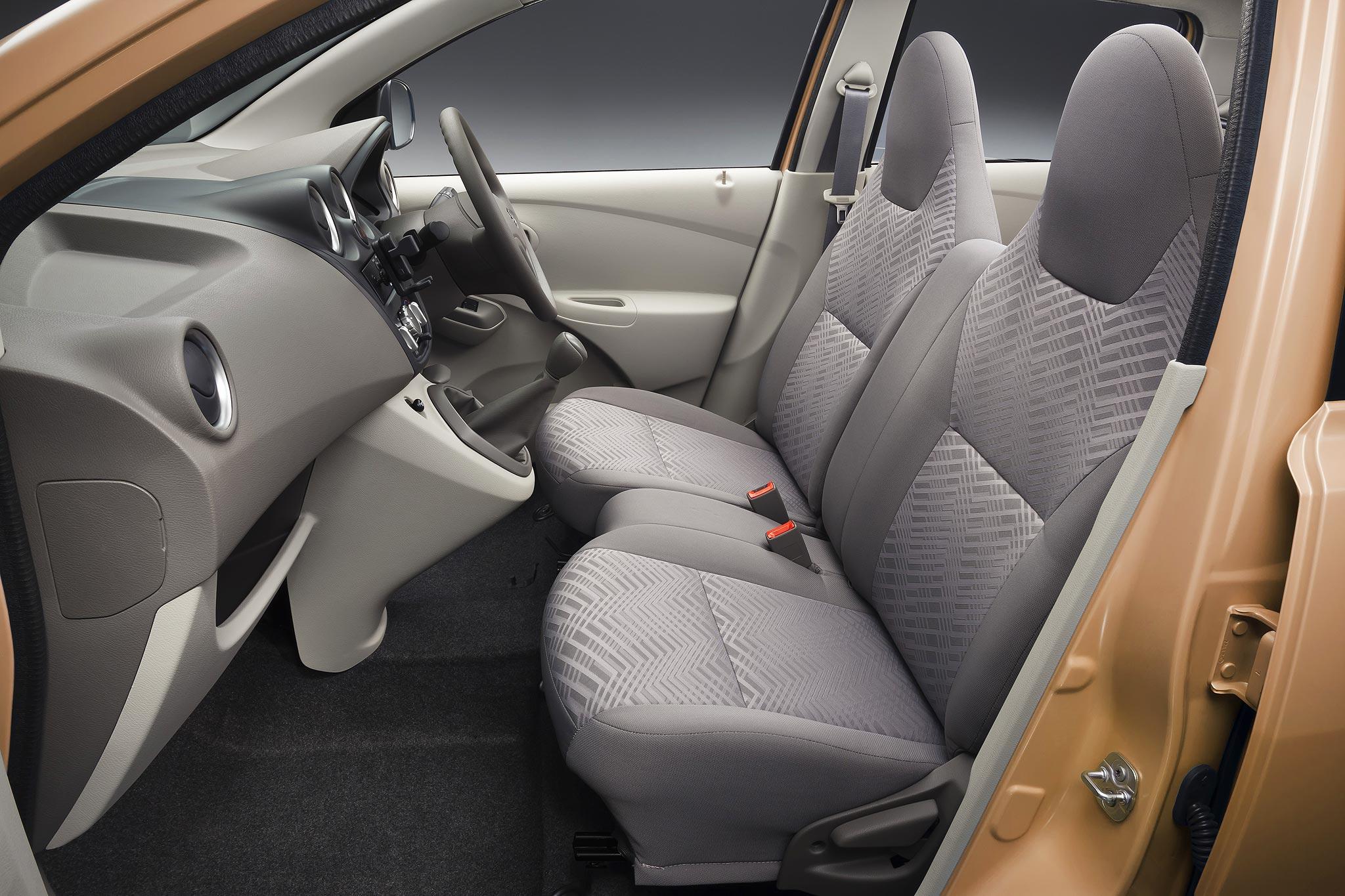 Datsun GO Plus front seat – AutonetMagz :: Review Mobil ...