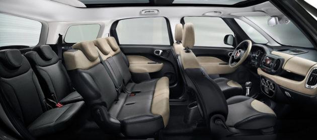 Fiat 500L MPW interior