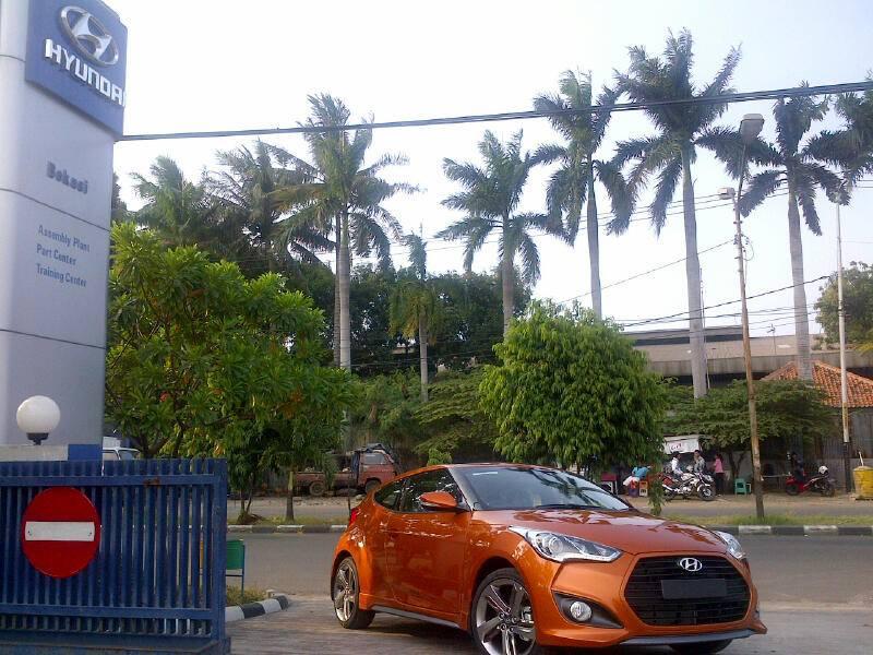 Hyundai Veloster Indonesia Tampak Depan