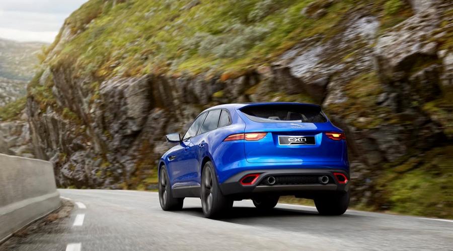 Frankfurt Motor Show 2013, Jaguar CX-17 blue: Jaguar C-X17 : SUV Pertama Jaguar