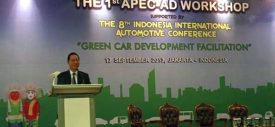 Konferensi Otomotif Internasional di Jakarta