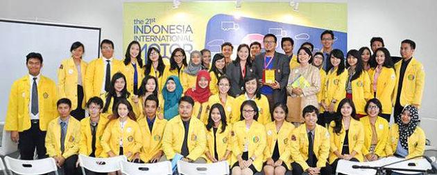Kunjungan mahasiswa UI ke IIMS
