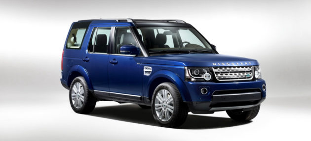 Land Rover Discovery Facelift terbaru