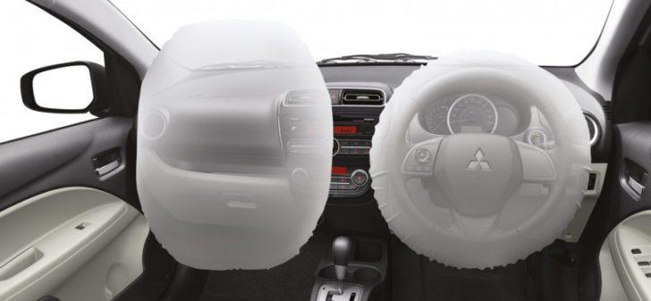 Mitsubishi, Mitsubishi Mirage Dual Airbag: Mitsubishi Mirage: City Car Dengan Fitur