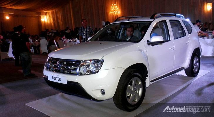 IIMS 2013, Renault Duster Indonesia Launch: Harga Lengkap Renault Duster Sudah Diumumkan Nih!