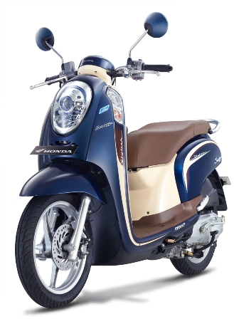 Scoopy Biru STYLISH