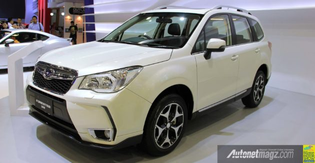 Subaru All-new Forester 2.0XT tampak depan