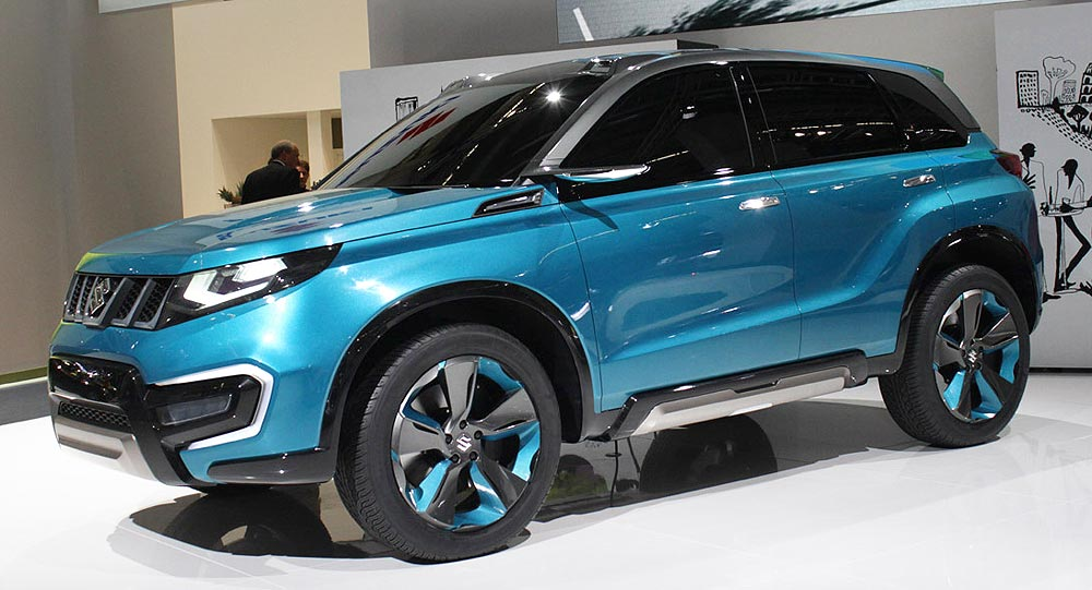 Frankfurt Motor Show 2013, Suzuki IV 4 Concept Crossover: Suzuki iV-4