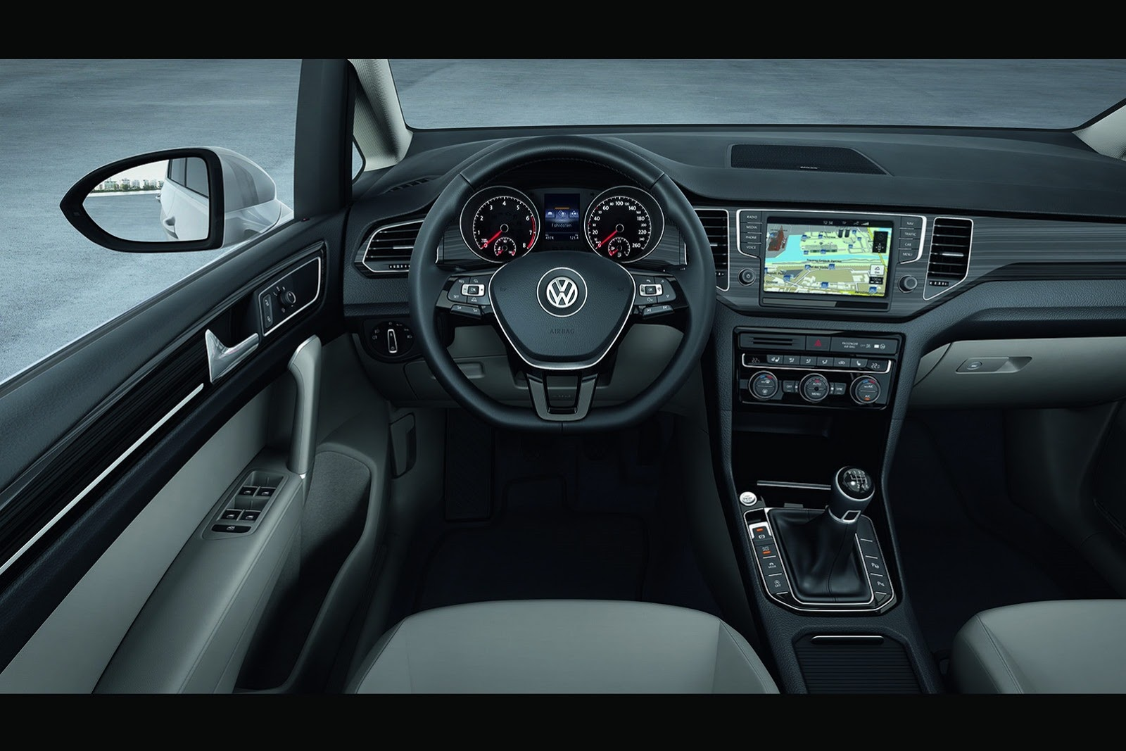 Frankfurt Motor Show 2013, VW Golf Sportsvan interior: VW Golf Sportsvan : Pengganti VW Golf Plus