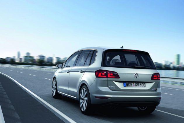 VW Golf Sportsvan rear