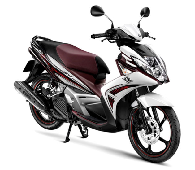 Yamaha Nouvo SX Indonesia white purple