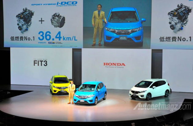 launching Honda Jazz baru 2014