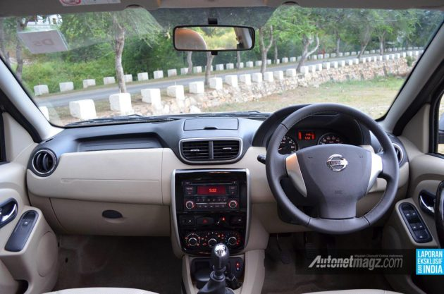 Dashboard All-new Nissan Terrano