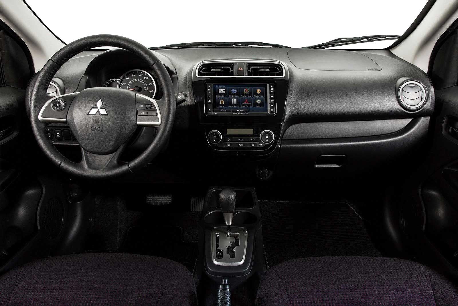 Dashboard Mitsubishi Mirage 2014